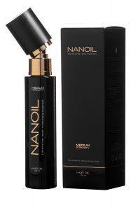 Nanoil do włosów średnioporowatych